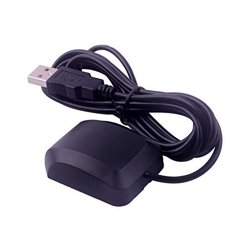 DIYmalls VK-162 G-Mouse USB GPS Dongle Modulo di navigazione Antenna GPS esterna Montaggio remoto Ricevitore GPS USB per supporto Raspberry Pi Finestra di Google Earth Linux