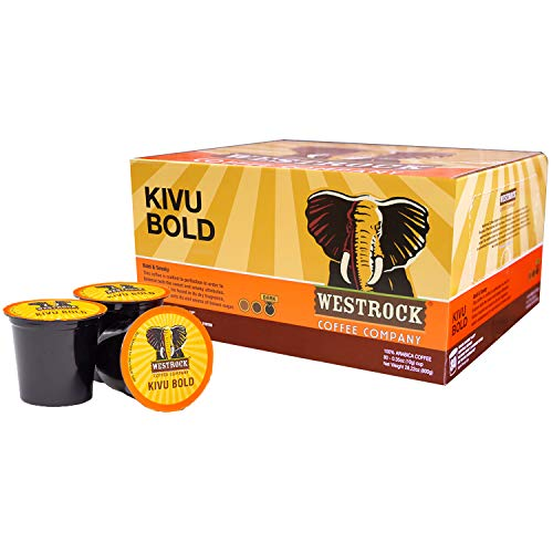 Westrock Coffee Company, Kivu Bold, Single Serve Coffee Cup, Dark Roast (80)