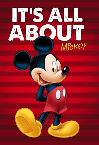 Star Disney Mickey Mouse & Friends Art. Code- 55888 Couverture imprimée 100 x 150 cm