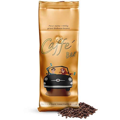 Espresso Perfetto | Bar Gusto | 60% Arabica 40% Robusta | 1000g Beutel mit Aromaventil | mildes, florales Bouquet, leicht erdig und dem Bitteren von Schokolade und Karamell