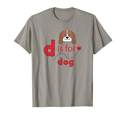 D es para diseño de pelota de tenis para perros Camiseta