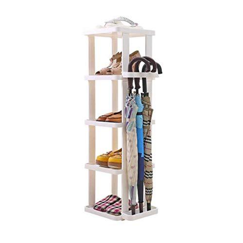 HLL Zapatero de plástico para dormitorio o dormitorio simple, gran capacidad, ahorro de espacio, multifuncional, para puerta de almacenamiento de zapatos