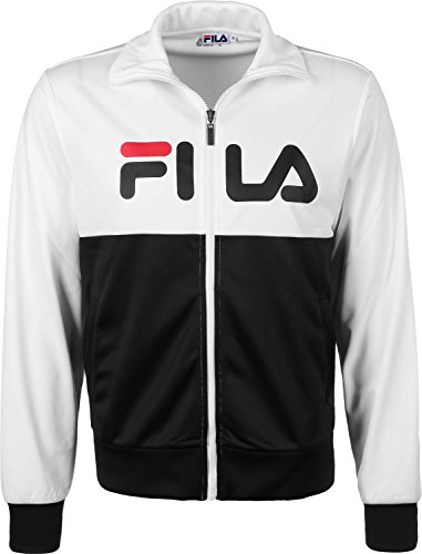 Fila Logan Trainingsjacke bright white/black