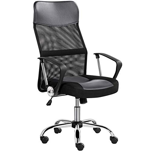 Modern Stylish Multi-Colored Mesh High Back Adjustable Dash Swivel Ergonomic Executive Office Chair for Working Reading Studying (2)