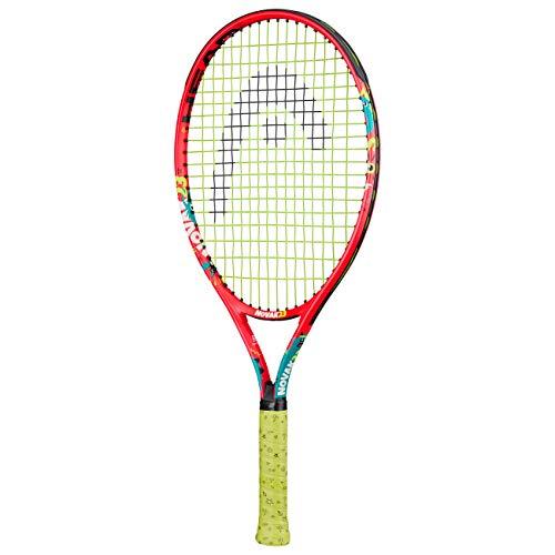 HEAD Novak 23 Racchette da Tennis, Unisex Bambino, Multicolore, 6-8 Anni