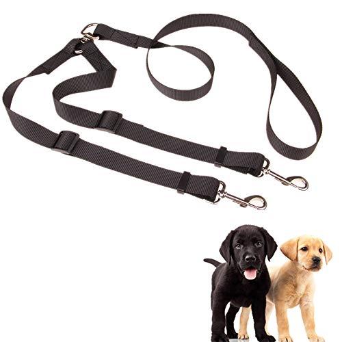 Hond Lood Dubbele Hond Lood Hondenriem Voor Kleine Honden Hond Lead Comfortabel Reflecterende Hond Lood Anti Pull Hond Lood Hond Wandelen Riem 2-way