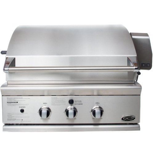 Hot Sale DCS BGB30-BQR-L 30-Inch Propane Traditional Grill, Brushed Stainless Steel