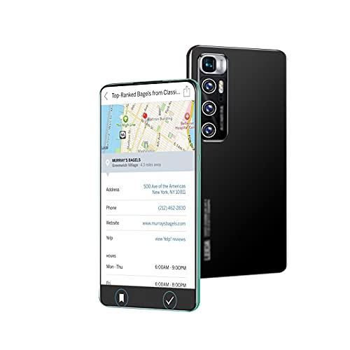 lei shop Teléfono Inteligente,Pantalla de Alta definición de 6,8 Pulgadas,Memoria de Gran Capacidad 4G-64G,cámara HD,desbloqueo rápido de Huella.