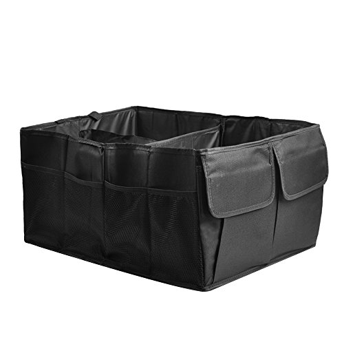 UniqueHome Trunk Organizer Storage Unit - Great Car Organizer For Any Type Of Car.
