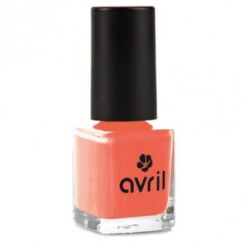AVRIL - Vegan Nagellacke ohne Chemikalien - Koralle 02 - Einfache Anwendung, Nicht an Tieren Getestet - 7ml