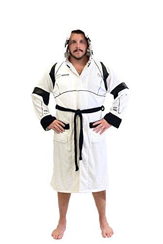 Star Wars Stormtrooper traje lana Albornoz (un tamaño)