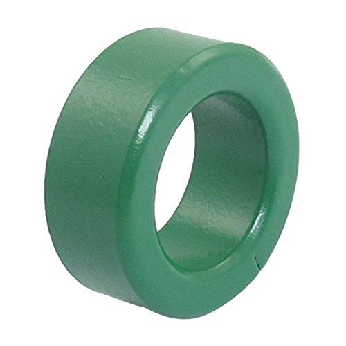 Iycorish 36mm diametro exterior Verde Nucleo de ferrita toroide bobinas de inductor de hierro