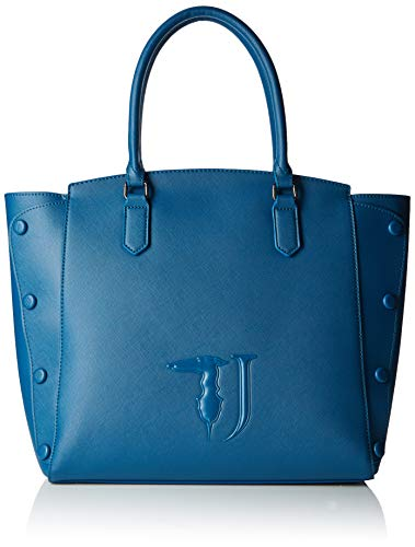 Trussardi Jeans Melissa Shopping Bag Covered Studs Dames schoudertas 32x32x15,5 cm (B x H x L)