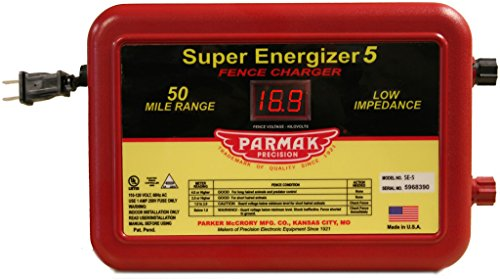 Parmak Super Energizer 5 Low Impedance 110/120...