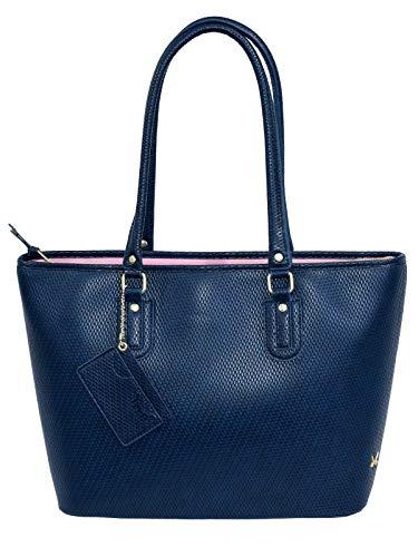 SANSIBAR-Damen Shopper Bag A4 38x29x13-Navy