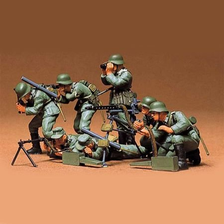 Tamiya 1:35 German Machine Gun Troops (Infantry)