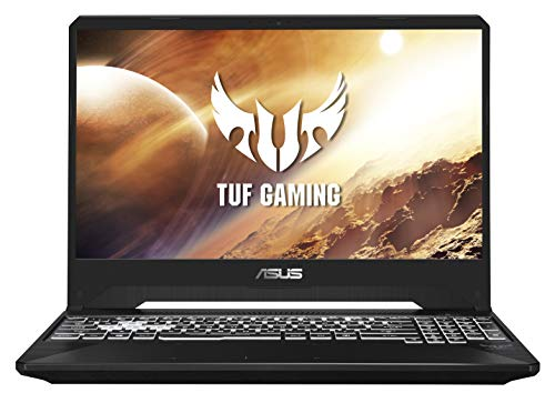 ASUS TUF 505DU-AL155T PC Portable Gaming 15.6'' (AMD Ryzen R5-3550H, RAM 16Go DDR4 , 512Go SSD, Optimus NVIDIA GeForce GTX 1660Ti 6Go, Windows 10) Clavier AZERTY Français