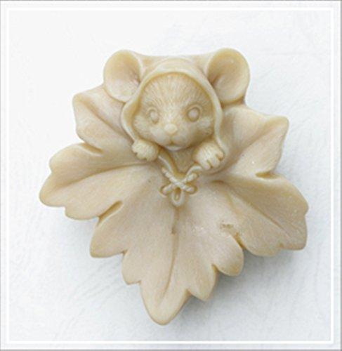 Tierform Handwerk Kunst Silikon Seife Formen Handwerk DIY, Seife Kerze handgefertigte Formen (N301)