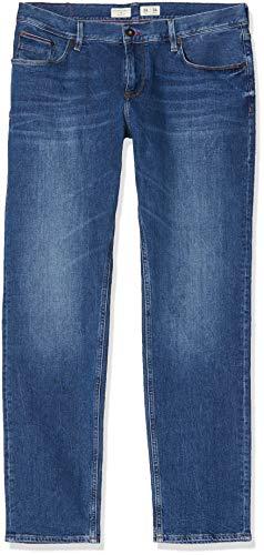Tommy Hilfiger Herren BLEECKER - 2STR OROFINO INDIGO Slim Jeans, Blau (Orofino Indigo 911), W34/L34