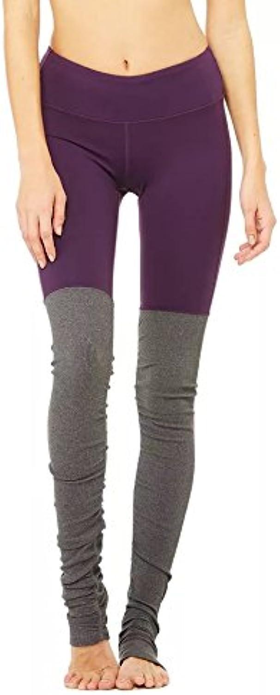MAYUAN520 Frau Winter Trocken Atmungsaktiv Yoga Hosen Hosen Nhen Rippstrick Schmale Größe Hose Fu Fitness Hose