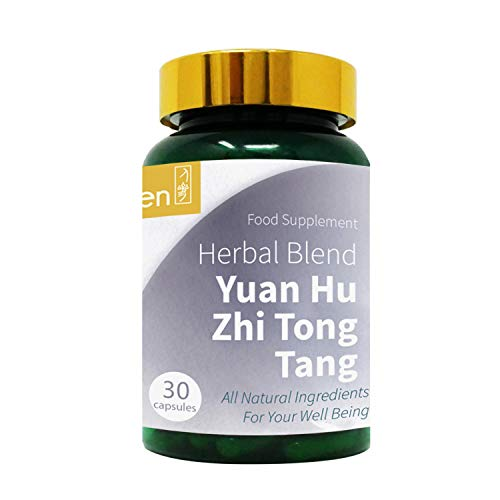 GinSen 2 x Joint Pain Tablets (60 Caps) Yuan Hu Zhi Tong Tang Joint Pain, Headache, Migraine, Sports Injuries, Stomach, Sciatica, Back Pain, Vegan, Vegetarian, Supplement, Natural, Made in UK
