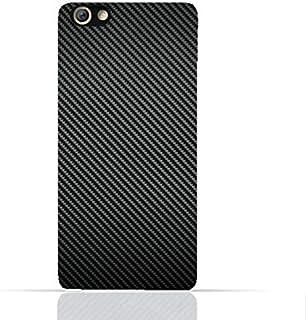 Oppo F3 TPU Silicone Case with Carbon Fiber Design