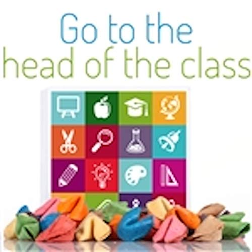 Teacher Appreciation - 2 Dozen Fortune Cookies - in our 'Head of the Class' Gift Box
