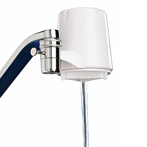 Culligan FM-15A Faucet-Mount Advanced Water Filter, 200 Gallon, White