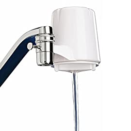 Culligan FM-15A Faucet-Mount Advanced Water Filter, 200 Gallon, White 1 Provide your family with visibly clean, great-tasting water for drinking, cooking and more FEATURES: Reduces azine, chlorine, lindane, lead, particulates class I, turbidity while removing bad taste/odor; Carbon block filtration method; Flow rate of 0.5 gpm at 60 psi; 30-100 psi pressure range; 40-100°F temp range; Easy installation with no tools COMPATIBILITY: Includes adapters for all standard sink nozzles (does NOT fit drop-down faucets)