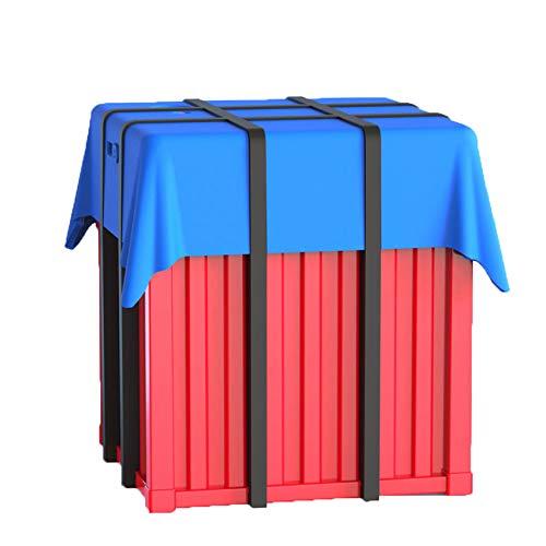 ANHPI-aromatherapy humidifier 260ml Mini USB Manger des Ornements Créatifs Maison Humidificateur Poulet Maison Calme,Red+Blue