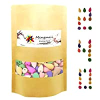 240 pcs Backflow Incense Cones, Mixed Natural Scents Bagged for Spa Yoga Meditation, Aromatherapy
