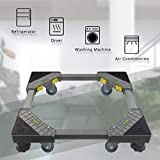Mini Fridge Stand Moving Furniture Appliance Dolly Moving Dollys with Wheels, LG Pedestals for Washer and Dryer, Dollies for Moving with 4 Wheels and 4 Feet
