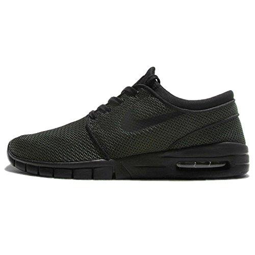 Nike Stefan Janoski Max Mens Sneakers Nero / Nero 5 D (M) US