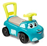 Smoby Mein erstes Auto Rutscherfahrzeug, Kinderfahrzeug mit Staufach und Kippschutz, für drinnen...