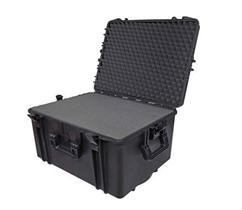 Max MAX620H340S IP67 resistente al agua nominal de tapas rígidas para fotografía equipo estanca resistente caja de transporte para iMac de transporte caja de herramientas/Tirador/Transit plástico funda/espuma de poliuretano de