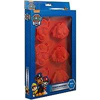 POS Handels GmbH 30195–Molde de Silicona Paw Patrol para Joven, 6, Aprox. 4x 20x 28cm, Color Rojo