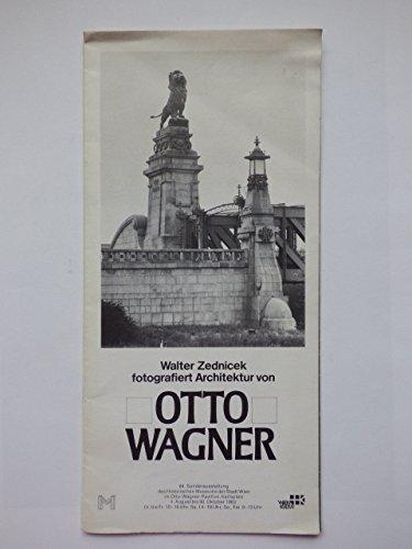 Walter Zednicek fotografiert Architektur von Otto-Wagner - Schüler Sonderausstellung des Historischen Museums im Otto-Wagner-Pavillon