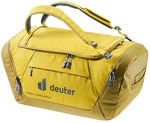 Deuter AViANT Duffel PRO 60, Borsa Sportiva Unisex-Adult, Corn-Turmeric, 60 L
