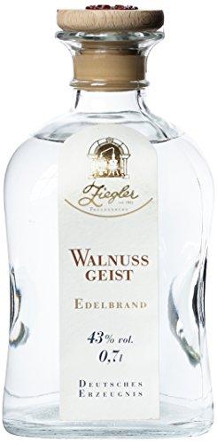 Brennerei Ziegler Walnussgeist - 0,70 Liter, 1er Pack (1 x 700 ml)