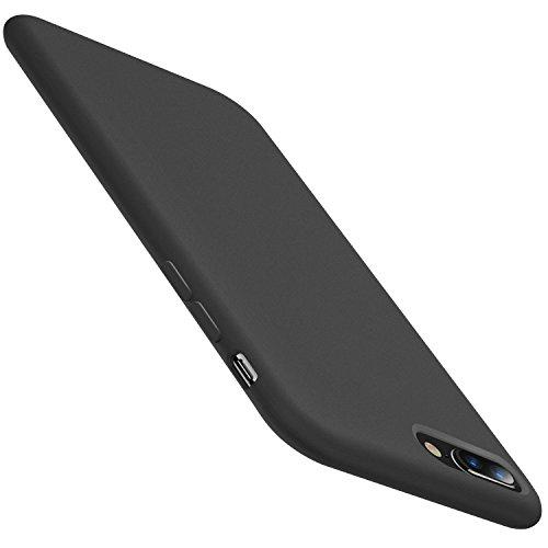 Meweri Case Compatible with iPhone 6 Plus/6S Plus Case, Liquid Silicone Rubber Phone Case for iPhone 6S/6 (iPhone 6 Plus/6S Plus, Black)