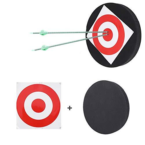 DaMohony Tiro con arco en movimiento caza tiro práctica alta densidad espuma tablero flecha blanco