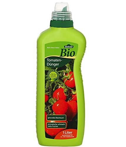 Dehner Bio Tomatendünger, flüssig, 1 l, für ca. 150 l