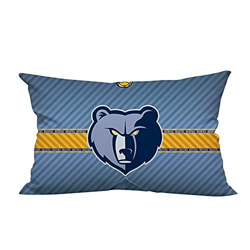 Grizzlies lungo cuscino da pallacanestro, moderno e minimalista personalità cuscino decorazione domestica cuscino auto peluche giacca PP cotone imbottitura 40 cm* 60 cm