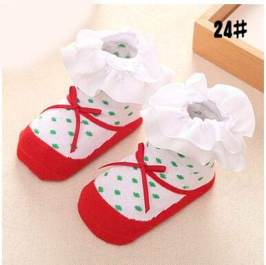 YDWZYS Baby SockenKinder Socken Für MädchenPrinzessin Geburtstag Mädchen Socken Xmas Baby Socsk 0-12 Monate24