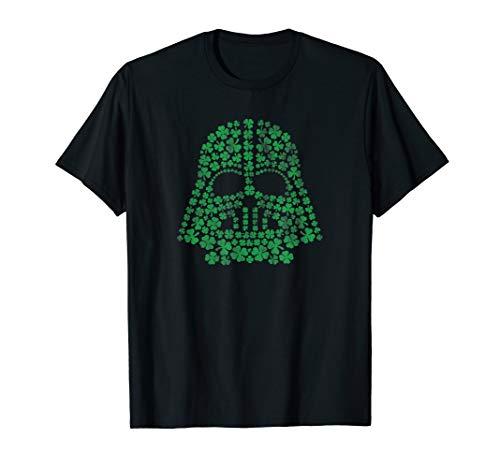 Star Wars Darth Vader Green Shamrocks St. Patrick's Day T-Shirt