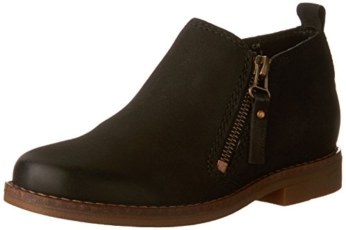 Hush Puppies Women's Mazin Cayto Ankle Boot, Black, 9 M US