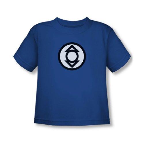 Green Lantern - - Tout-petit Indigo Logo tribu T-shirt En royal, 3T, Royal