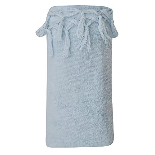 LES POULETTES Telo Mare Spugna Cotone Blu Cielo 100 x 200cm