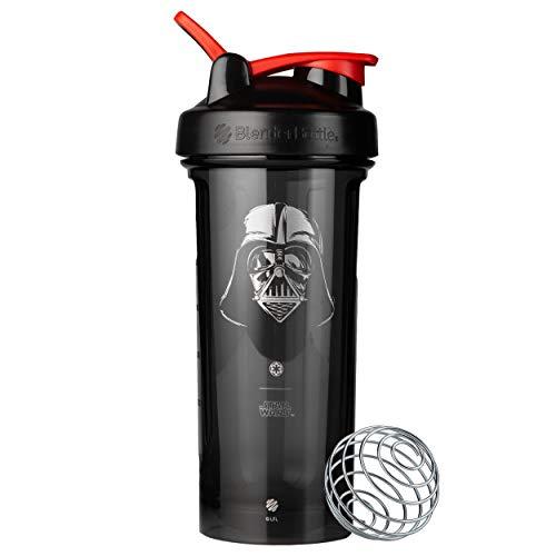 BlenderBottle Star Wars Pro Series 28-Ounce Shaker Bottle, Darth Vader Helmet