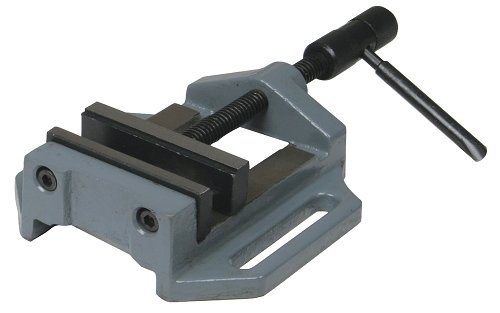 Optimum 025op0075Schraubstock für Bohrer, Typ MSO 75mit Prismen, Länge 270mm, Gewicht 1,7kg